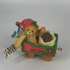 Cherished Teddies He Knows If You've Been Bad Or G